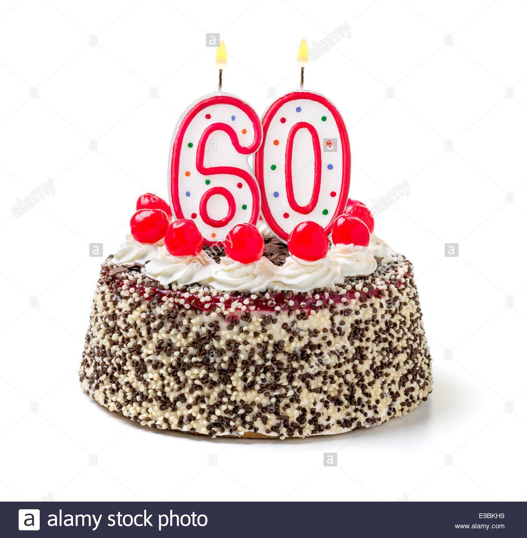 Geburtstagstorte 60  Happy 60th Birthday Stockfotos & Happy 60th Birthday
