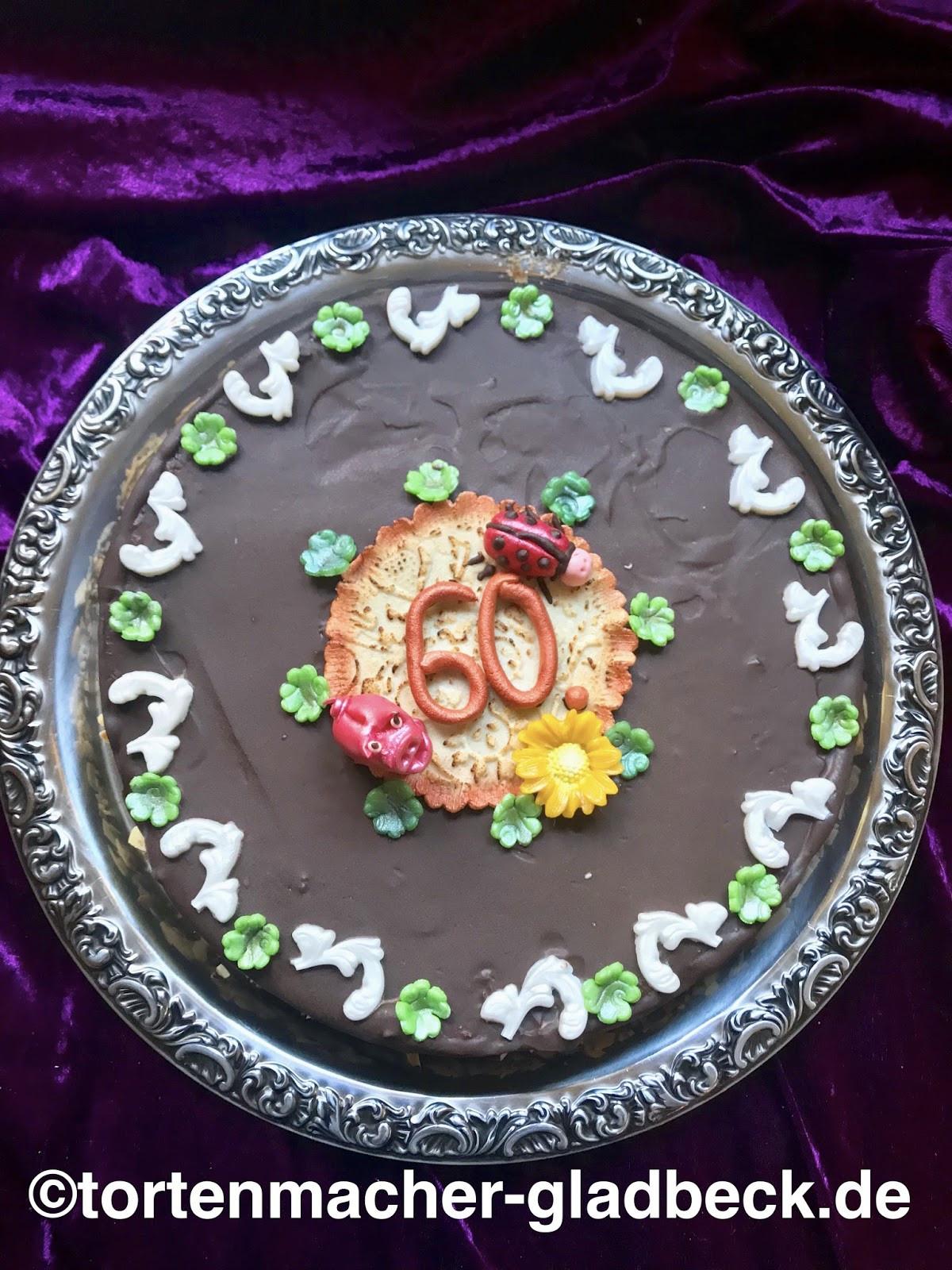 Geburtstagstorte 60  Der Tortenmacher Gladbeck Torten und Kuchen zum Geburtstag
