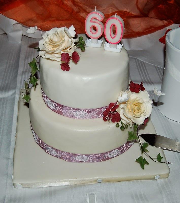 Geburtstagstorte 60  Natessimo s Süße Kunst Geburtstagstorte zum 60 ten Geburtstag