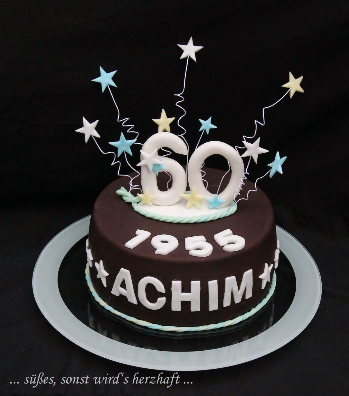 Geburtstagstorte 60  Torte zum Geburtstag Torte für Männer Torte zum 60