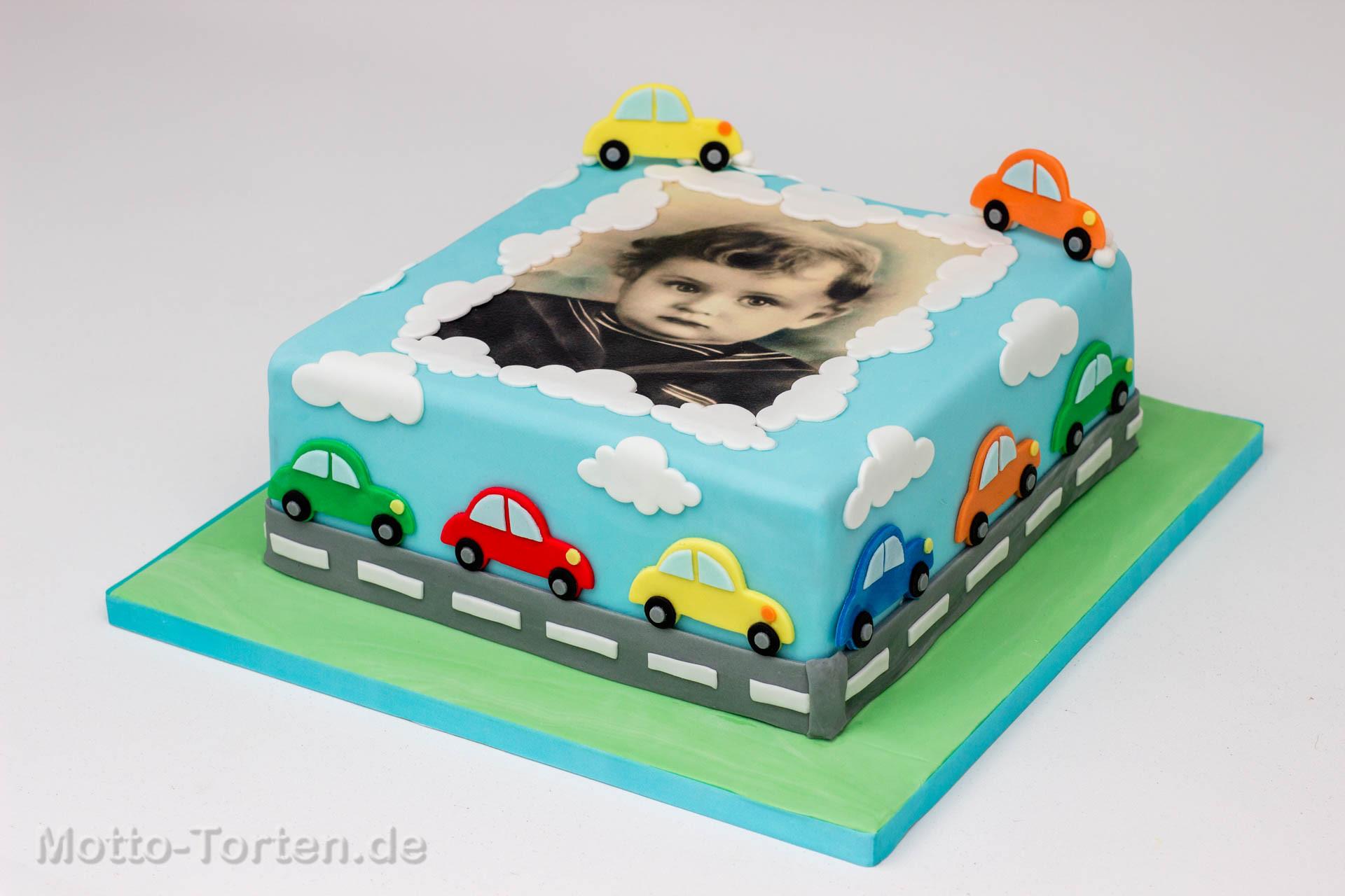 Geburtstagstorte Auto  Geburtstagstorte zum runden Geburtstag