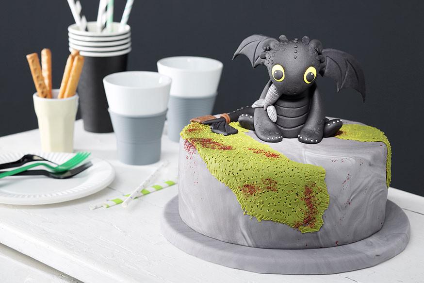 Geburtstagstorte Kaufen  Rezept für Dragon Kuchen