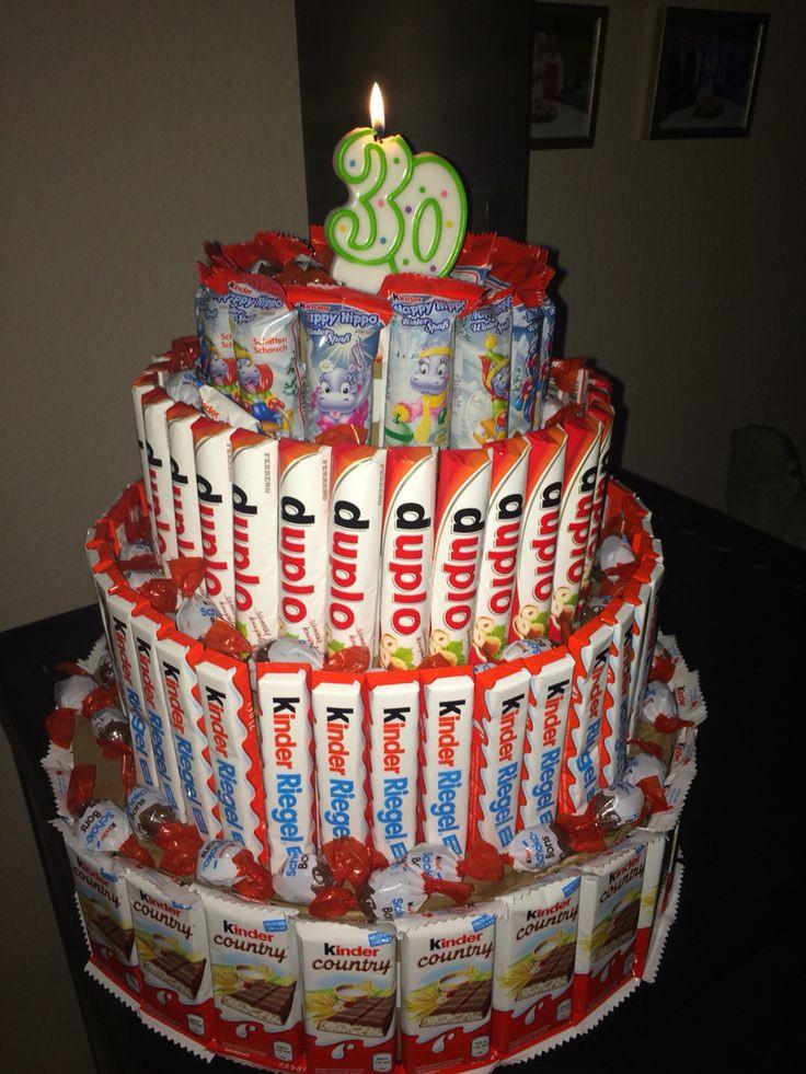 Geburtstagstorte Kaufen  Süßigkeiten Torte