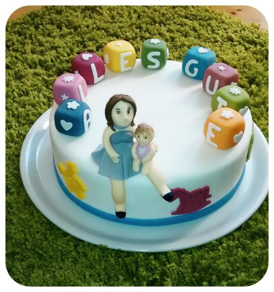 Geburtstagstorte Kind  Geburtstagstorte für Mutter und Kind