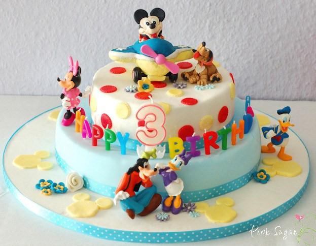 Geburtstagstorte Kinder Junge  Torte Kindergeburtstag Dekorieren Geburtstagstorte