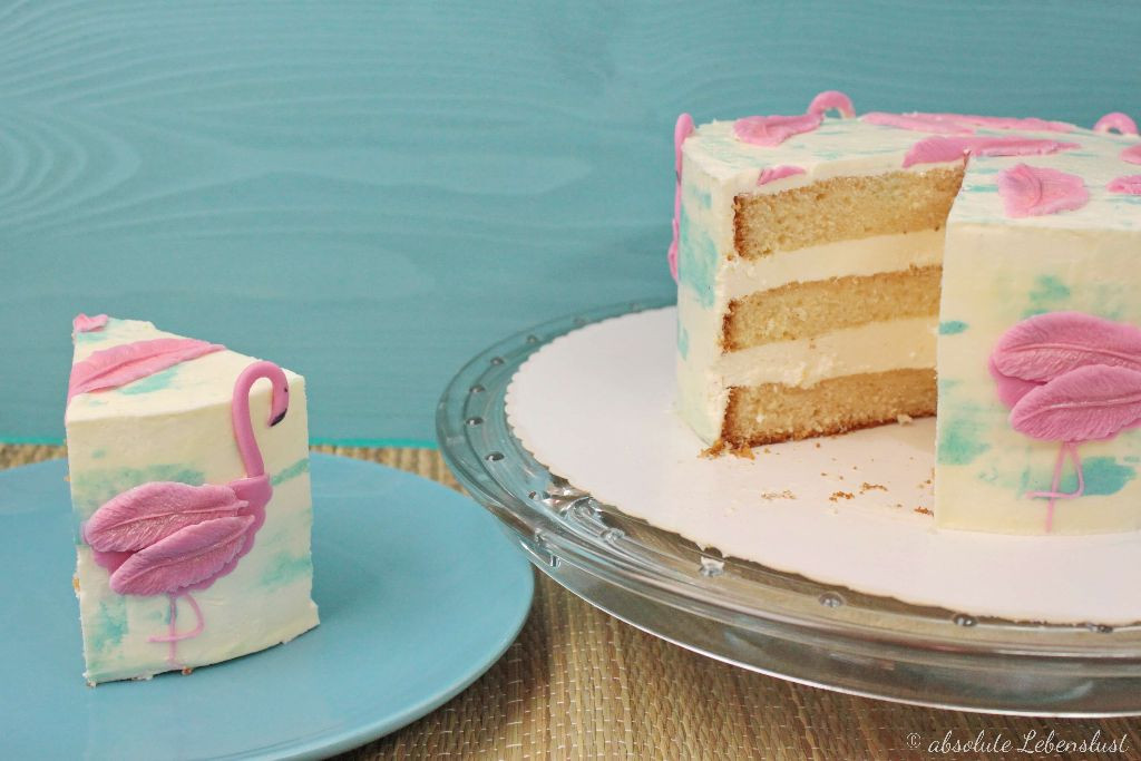 Geburtstagstorte Rezept Mit Bild  Flamingo Torte – Geburtstagstorte selber machen – Torten