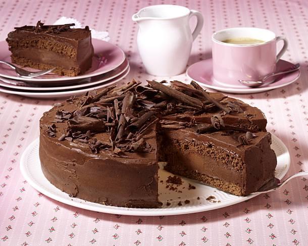Geburtstagstorte Rezept Mit Bild  Schokoladen Torte Rezept