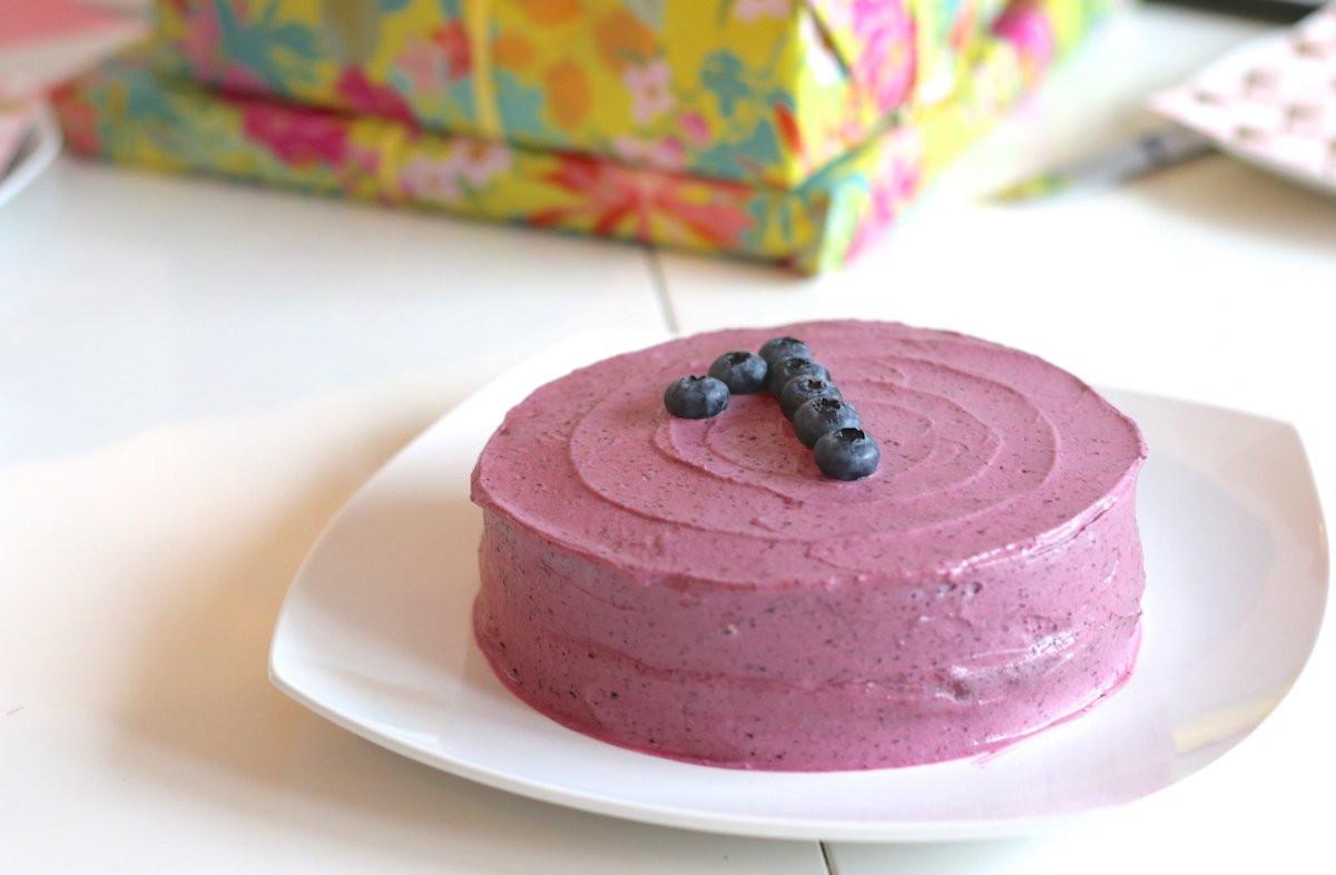 Geburtstagstorte Zum 1 Geburtstag  Geburtstagstorte zum ersten Geburtstag – Kuchen Rezept