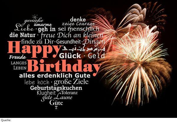 Geburtstagswünsche 18  Zum 18 Geburtstag – festpark