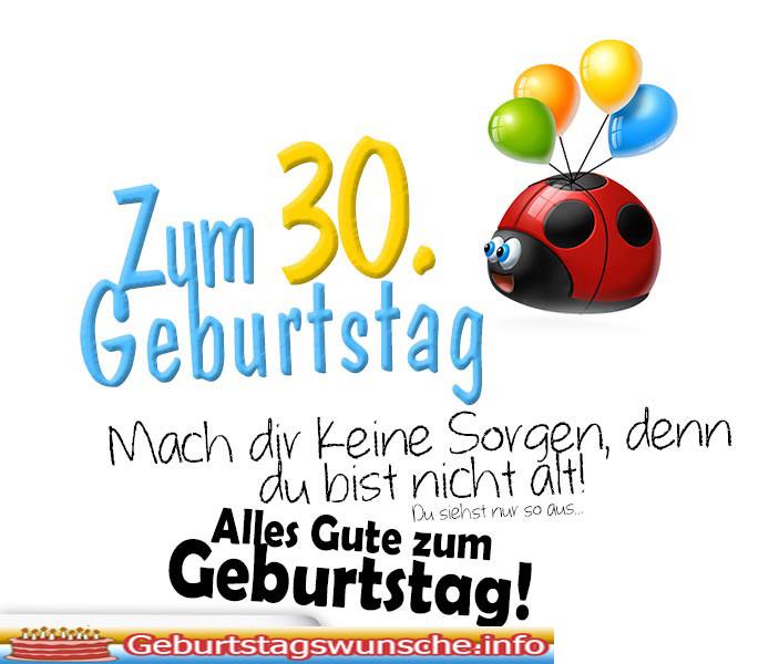 Geburtstagswünsche 30  Sprüche zum 30 Geburtstag Glückwünsche zum 30