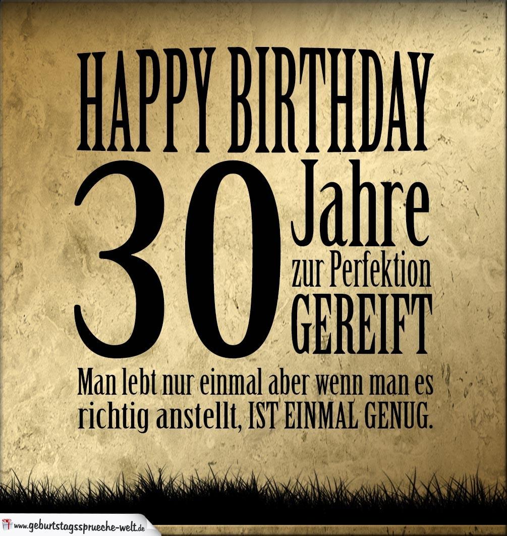 Geburtstagswünsche 30 Jahre  Geburtstagswünsche Für Männer 30 Jahre – guten bilder