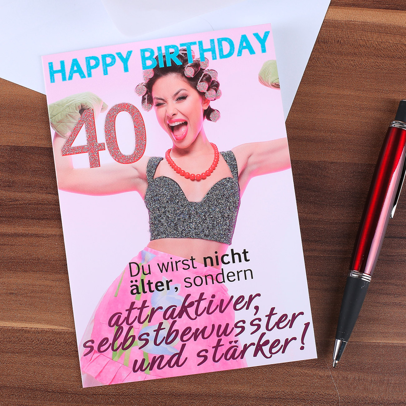 Geburtstagswünsche 40 Frau  Komma³