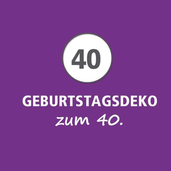 Geburtstagswünsche 40 Frau  Deko 40 Geburtstag Frau