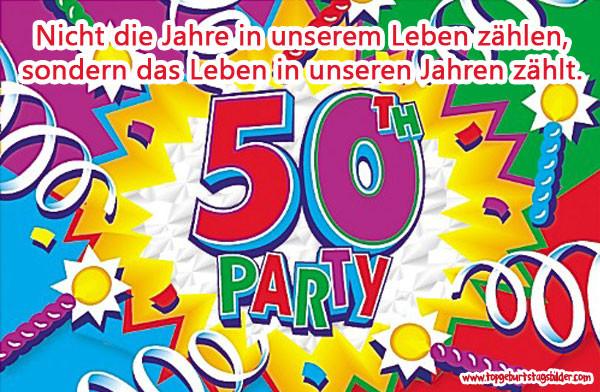 Geburtstagswünsche 50 Geburtstag  Geburtstagswünsche zum 50 Top Geburtstagsbilder