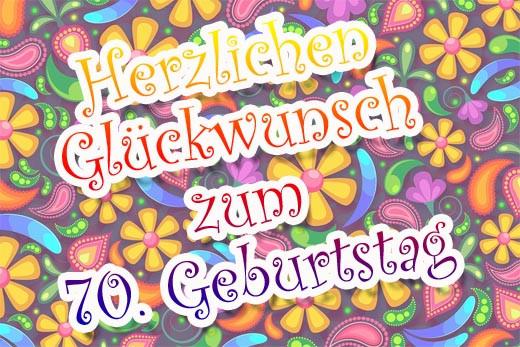 Geburtstagswünsche 70 Jahre  Gluckwunsche 70 geburtstag bilder – Beste Geschenk Website