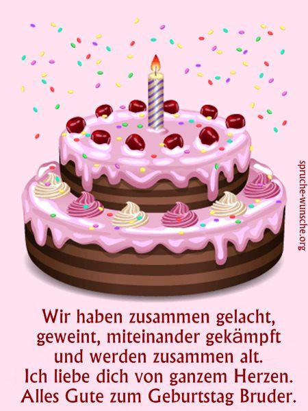 Geburtstagswünsche Bruder Lustig  Lustig Geburtstagswünsche Sprüche Bilder für Brüder