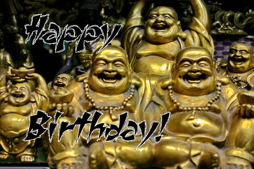 Geburtstagswünsche Buddha  Englische Geburtstagskarten