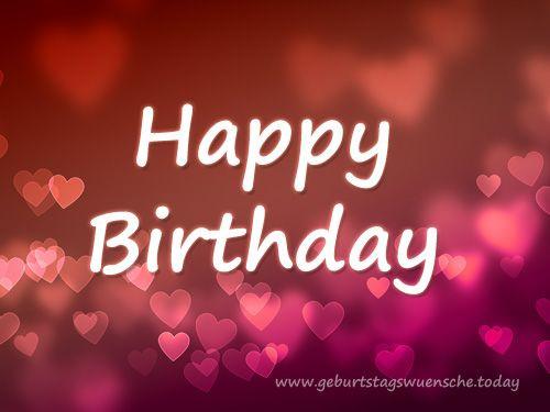Geburtstagswünsche Englisch Bilder  Geburtstagsbilder liebevolle und schöne Bilder zum