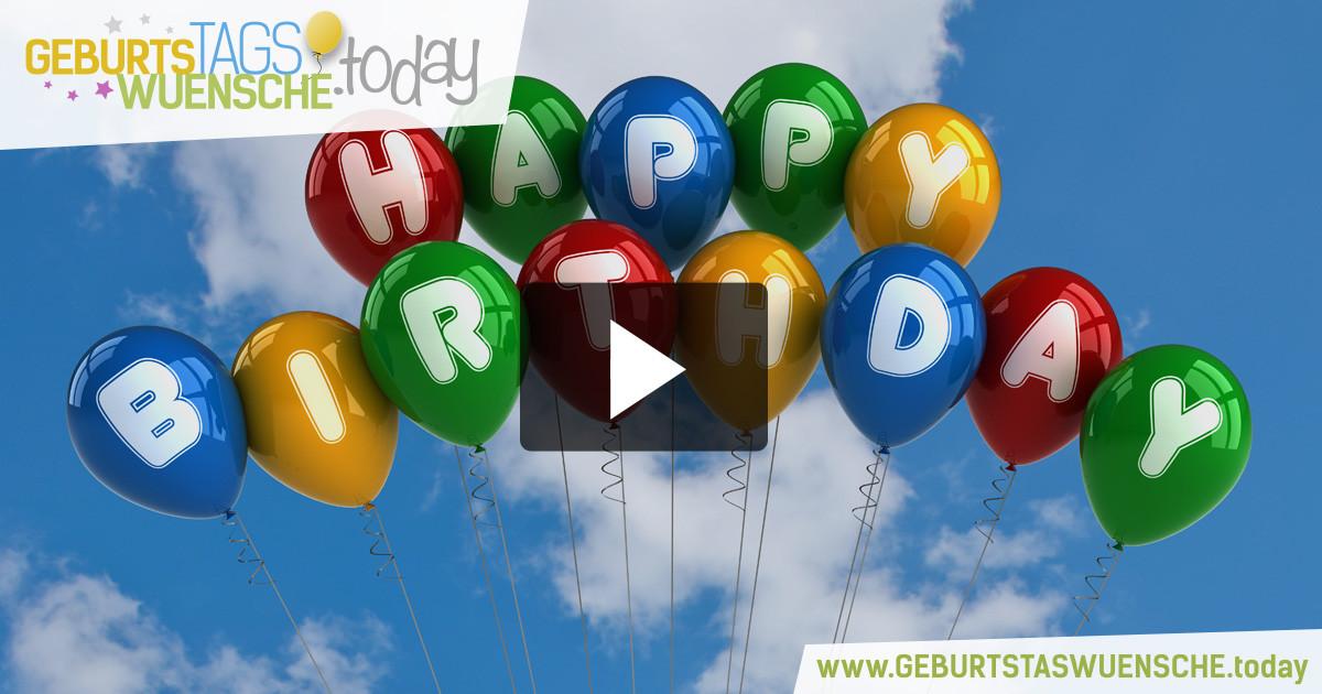 Geburtstagswünsche Facebook  Lustige Geburtstagsvideos & Happy Birthday Videos