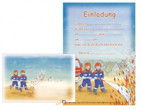 Geburtstagswünsche Feuerwehr  Einladungstext Geburtstag Feuerwehr
