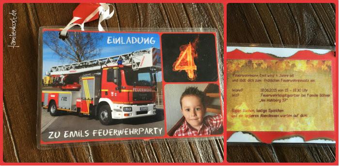 Geburtstagswünsche Feuerwehr  Feuerwehr Party zum Kindergeburtstag