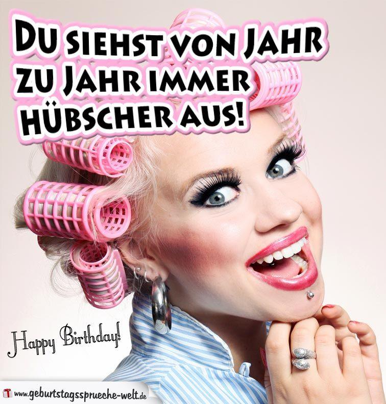 Geburtstagswünsche Frauen Lustig  Pin von Claudi auf Geburtstag