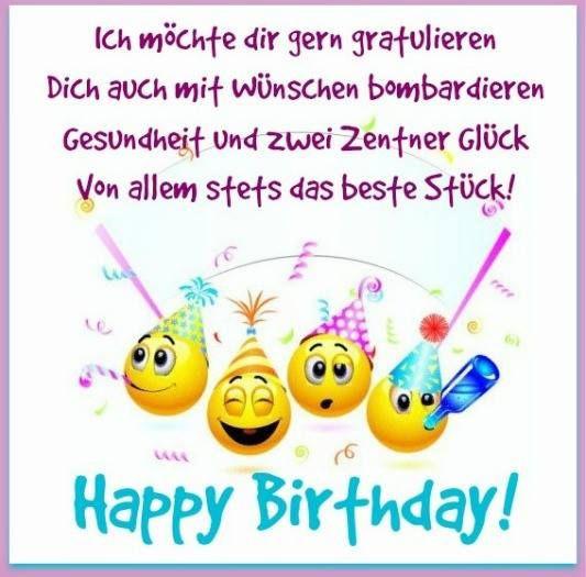 Geburtstagswünsche Frech  GeburtstagsBilder Geburtstagskarten und