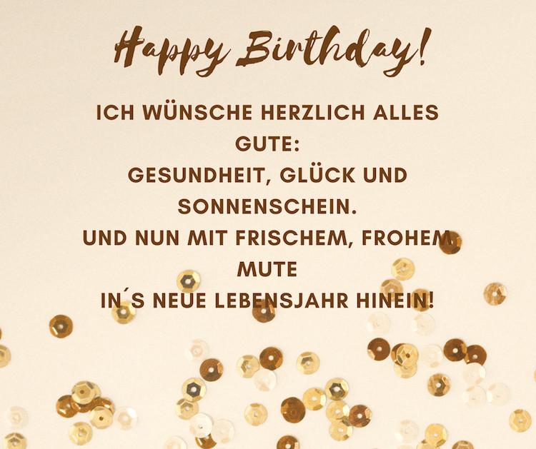 Geburtstagswünsche Für Alte Kranke Menschen  Wunderschöne Geburtstagssprüche und Zitate für