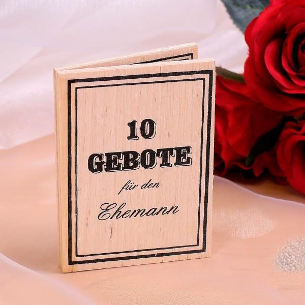 Geburtstagswünsche Für Den Ehemann  10 Gebote für den Ehemann zur Hochzeit