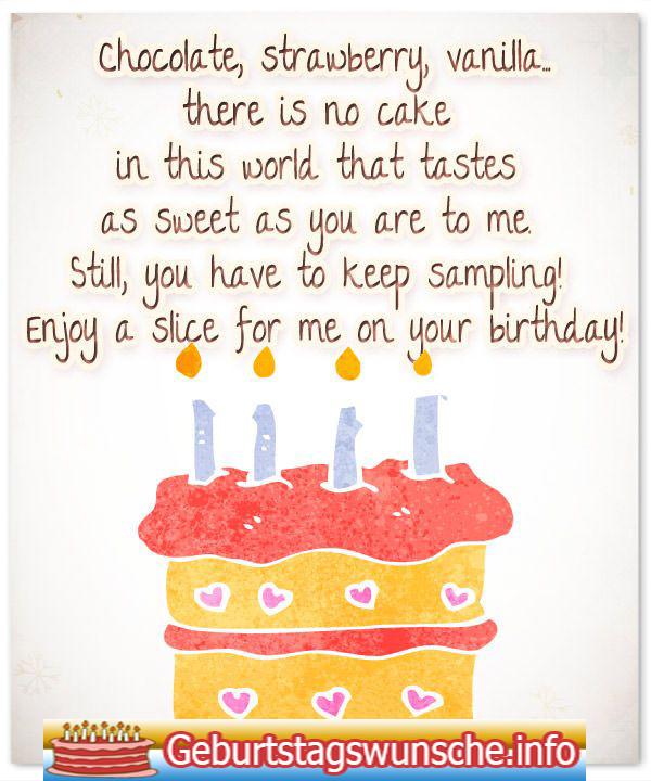 Geburtstagswünsche Für Den Partner  Geburtstagssprüche für den Verlobten Geburtstagssprüche