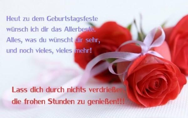 Geburtstagswünsche Für Den Schatz  GeburtstagsBilder Geburtstagskarten und