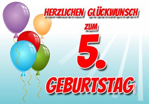Geburtstagswünsche Für Enkelkind Zum 2. Geburtstag  5 Geburtstag Glückwünsche für Kinder