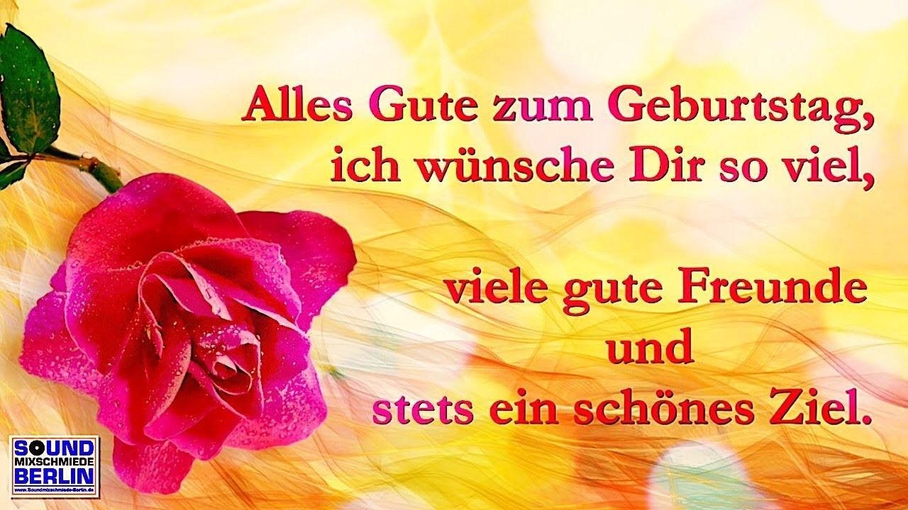 Geburtstagswünsche Für Frauen Bilder  Geburtstagsgrüße für WhatsApp ️ Schöne Geburtstagslieder