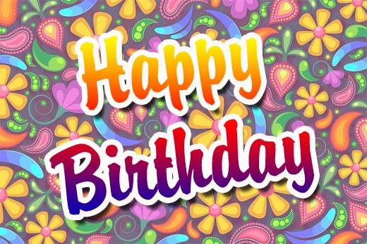 Geburtstagswünsche Für Frauen Bilder  Englische Geburtstagswünsche für Karten WhatsApp und