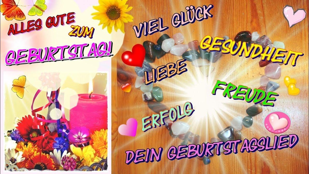 Geburtstagswünsche Für Frauen Kostenlos  Geburtstagsgrüße in deutscher Sprache zum verschicken
