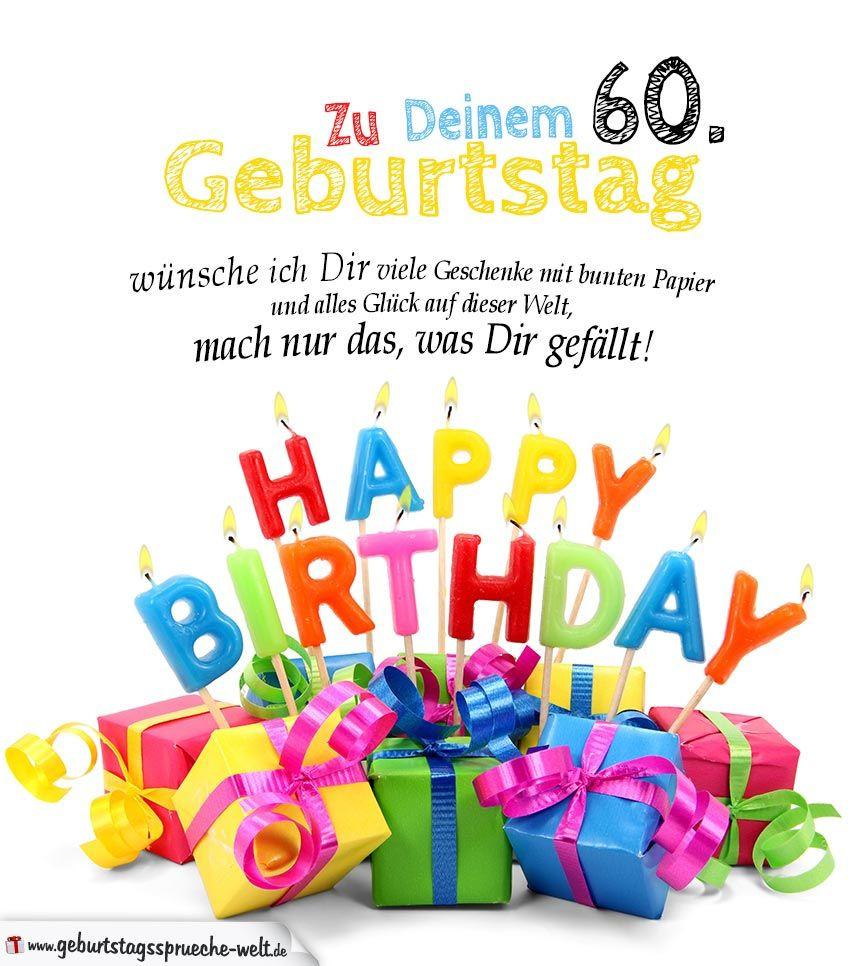 Geburtstagswünsche Für Frauen Kostenlos  Bildergebnis für 60er geburtstag glückwünsche frau
