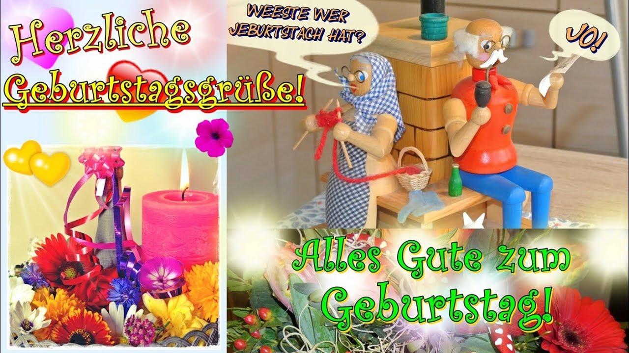 Geburtstagswünsche Für Frauen Kostenlos  Herzliche Geburtstagsgrüße schönes Geburtstagslied