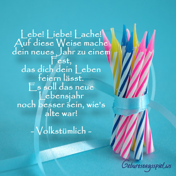 Geburtstagswünsche Für Karte  Geburtstagswünsche als liebevollen Text oder Spruch