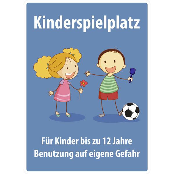 Geburtstagswünsche Für Kinder 12 Jahre  Spielplatzschild Kinderspielplatz Für Kinder bis 12