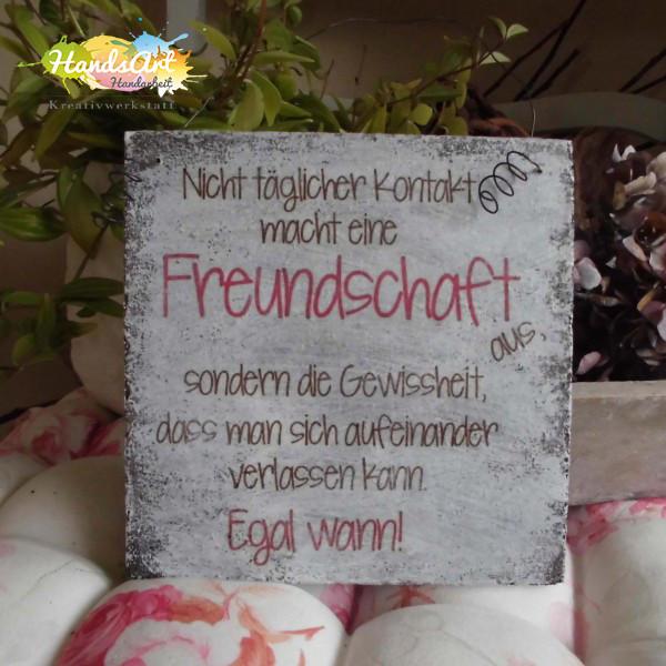 Geburtstagswünsche Für Oma Vom Enkel  Shabby Style Freundschaft Holzschild Geschenk Dekoration