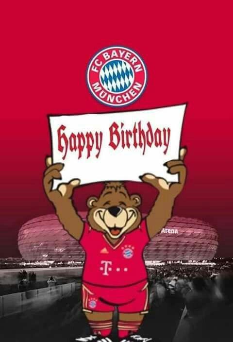 Geburtstagswünsche Fussball  Pin von deine schneewittchen auf FC Bayern