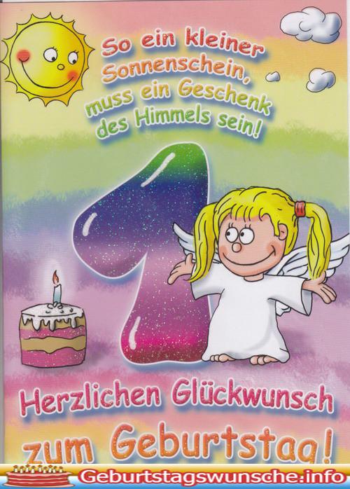 Geburtstagswünsche Kind 2  Glückwünsche zum 1 Geburtstag Wünsche zum Geburtstag