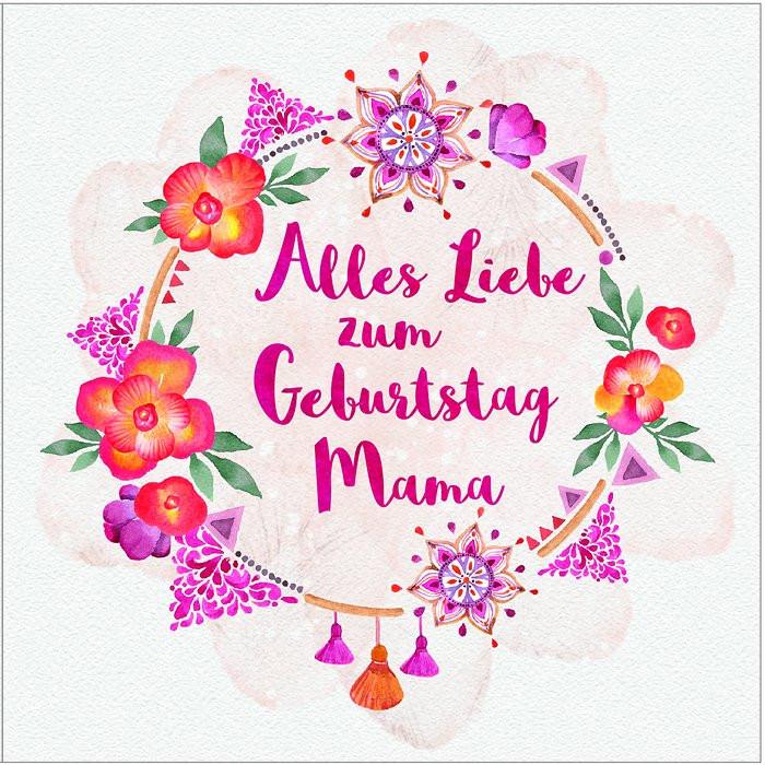 Geburtstagswünsche Mama  Alles Liebe zum Geburtstag Mama 319 Alles Liebe zum