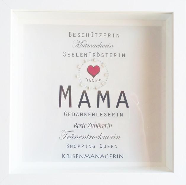Geburtstagswünsche Mama Danke  Bilderrahmen Weihnachtsgeschenk Mama Beste Mama Danke