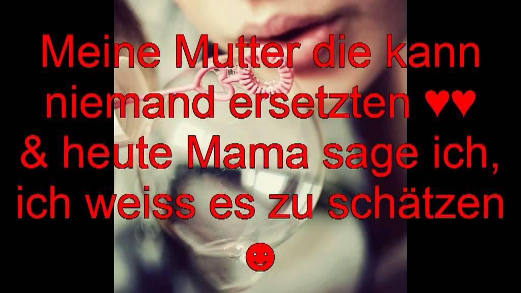 Geburtstagswünsche Mama Danke  Ich liebe dich Mama Danke für alles ♥