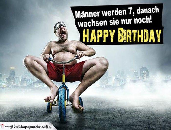 Geburtstagswünsche Mann Sexy  70 freche und lustige Geburtstagssprüche für Männer