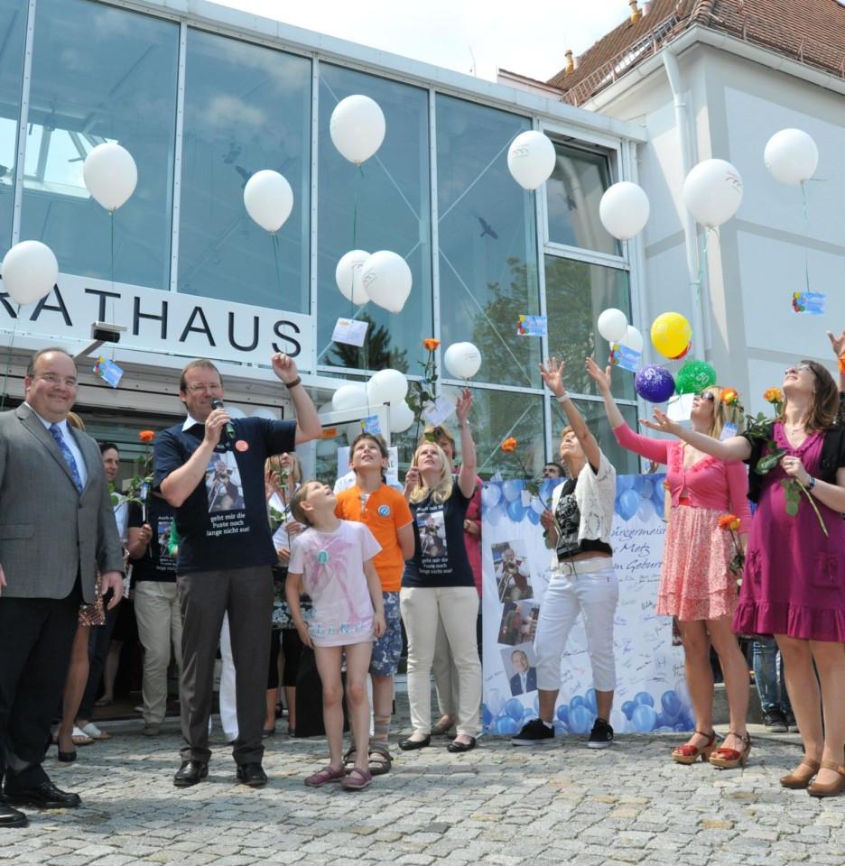 Geburtstagswünsche Mitarbeiter  Jubiläum Für einen Tag vom Rathaus zum Spaßhaus