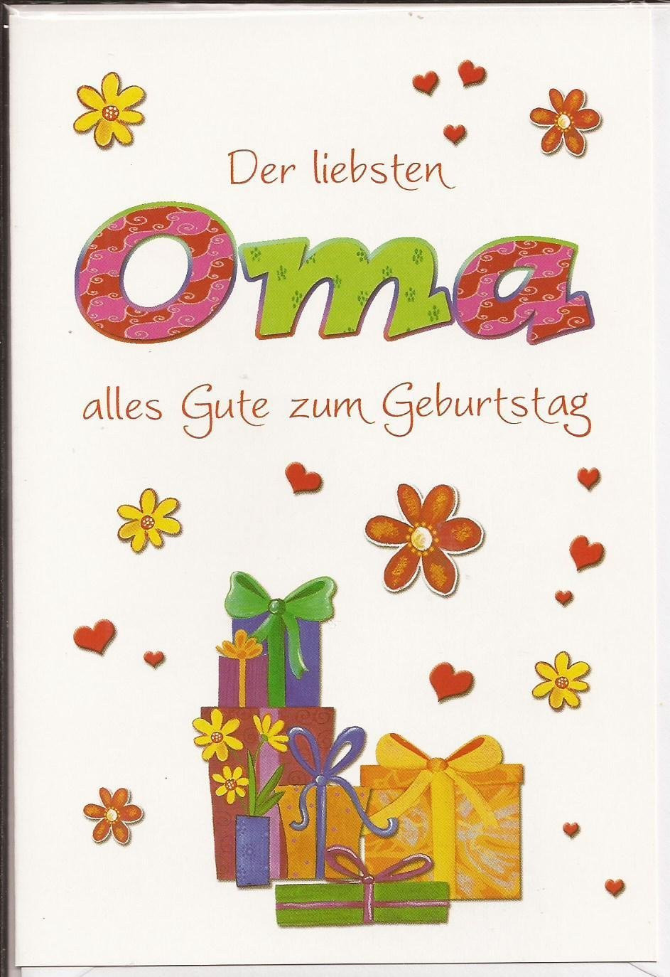 Geburtstagswünsche Oma  15 Bilder mit dem Tag geschenk Alles Liebe zum Geburtstag