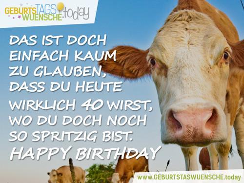 Geburtstagswünsche Vergessen  Lustige Sprüche & schöne Glückwünsche zum 40 Geburtstag