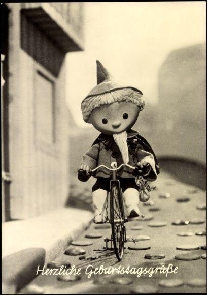 Geburtstagswünsche Vintage  Ansichtskarte Postkarte Glückwunsch Geburtstag